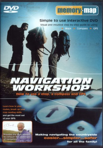 Memory-map Navigation Workshop DVD: How to Use a Map,a Compass and GPS by Unknown