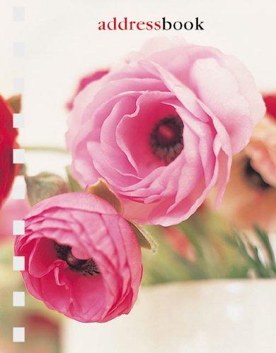 Pink Flower Pocket Address Book