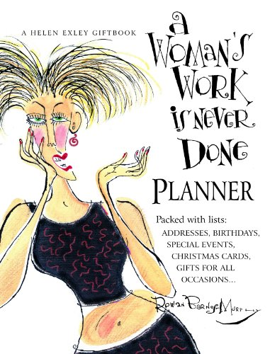 a woman's Work Is Never Done Organiser by Various