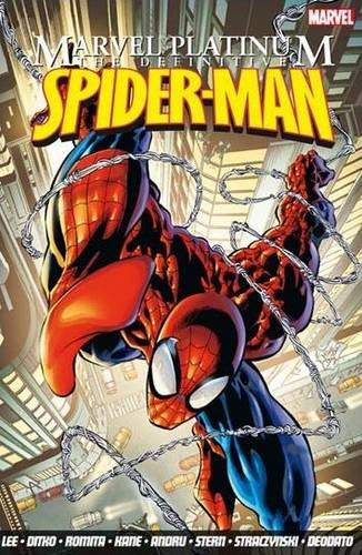 Marvel Platinum: The Definitive Spider-Man by Stan Lee (Zeneca Pharmaceuticals, Macclesfield, Cheshire)