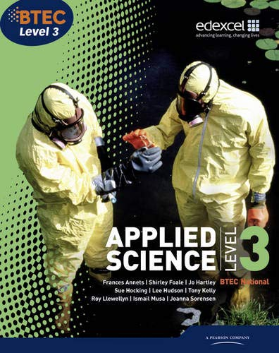 BTEC Level 3 National Applied Science Student Book: Level 3 by Frances Annets