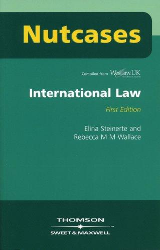Nutcases International Law by Professor Rebecca Wallace