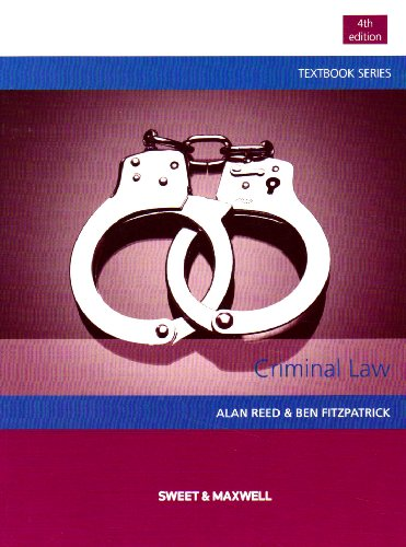 Criminal Law by Professor Alan Reed
