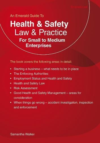 Health and Safety Law and Practice: For Small to Medium Enterprises by Samantha Walker