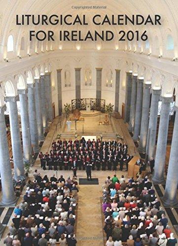 Liturgical Calendar for Ireland: 2016 by Patrick Jones