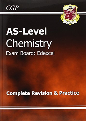 AS-Level Chemistry Edexcel Complete Revision & Practice by CGP Books