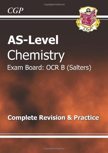 AS-Level Chemistry OCR B (Salters) Revision Guide by Richard Parsons