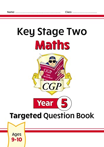 KS2 Maths Targeted Question Book - Year 5 by CGP Books