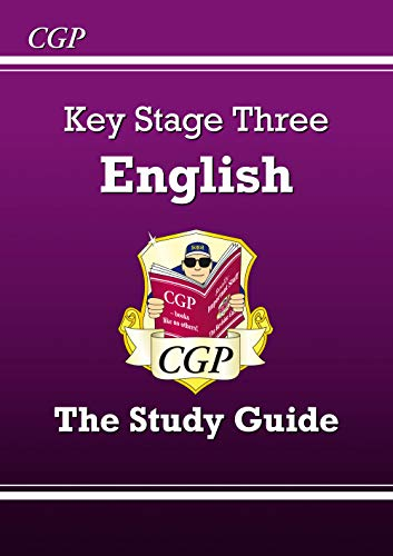 KS3 English Study Guide (With Online Edition) by CGP Books