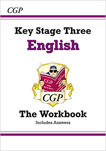 KS3 English  Workbook (With Answers and Online Edition) by CGP Books