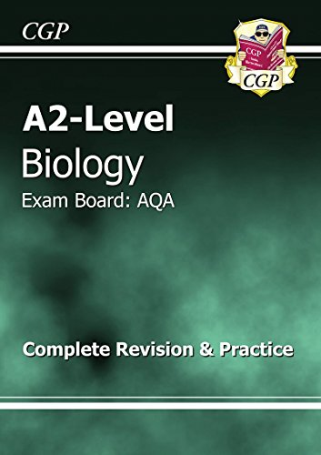 A2-Level Biology AQA Complete Revision & Practice by CGP Books