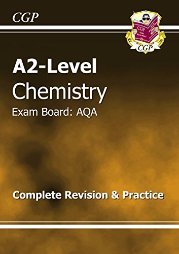 A2-Level Chemistry AQA Complete Revision & Practice by CGP Books