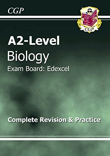 A2-Level Biology Edexcel Complete Revision & Practice by CGP Books
