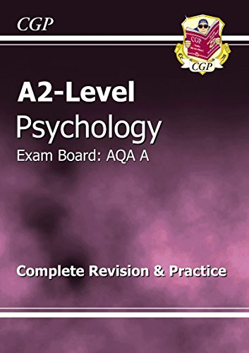 A2-Level Psychology AQA A Complete Revision & Practice by CGP Books