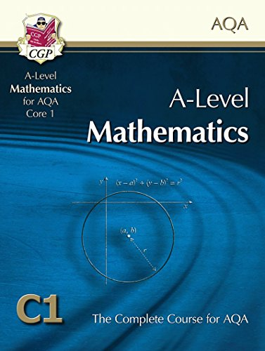 AS/A Level Maths for AQA - Core 1: Student Book by CGP Books
