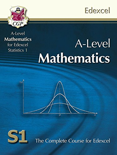 A-Level  Maths for Edexcel - Statistics 1: Student Book by CGP Books