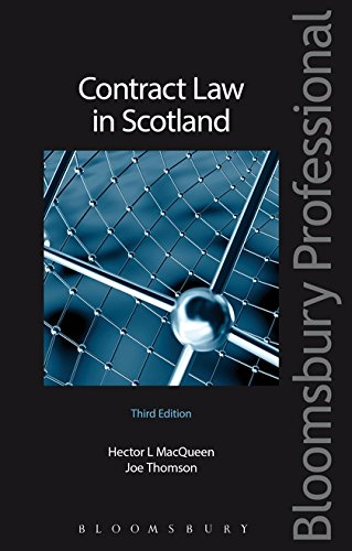 Contract Law in Scotland by Joe Thomson