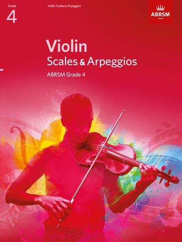 Violin Scales & Arpeggios, ABRSM Grade 4: From 2012 by