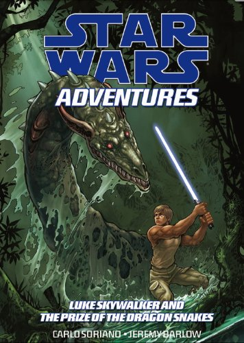 Star Wars Adventures: v. 3: Luke Skywalker and the Treasure of the Dragonsnakes by Carlo Soriano