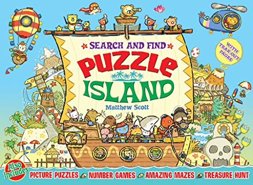 Puzzle Island: Search and Find by Matthew Scott
