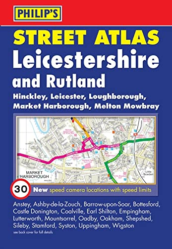 Philip's Street Atlas Leicestershire and Rutland by