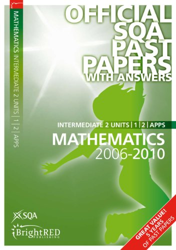 2010 intermediate 2 maths past papers