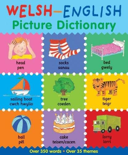 Welsh-English Picture Dictionary by Catherine Bruzzone