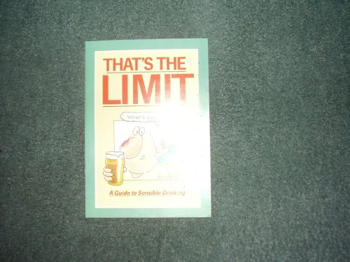 That's the Limit: Guide to Sensible Drinking by Health Education England
