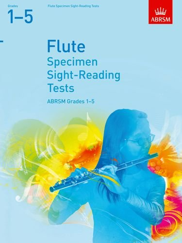 Specimen Sight-Reading Tests for Flute, Grades 1-5 by ABRSM