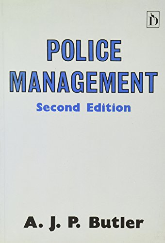 Police Management by A.J.P. Butler