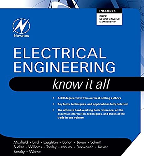 Electrical Engineering: Know it All by Clive Maxfield