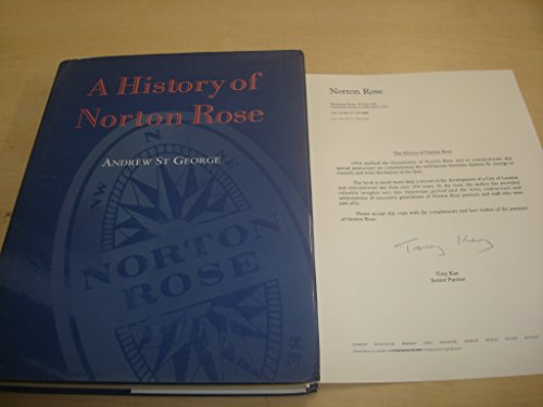 History of Norton Rose by Andrew St.George