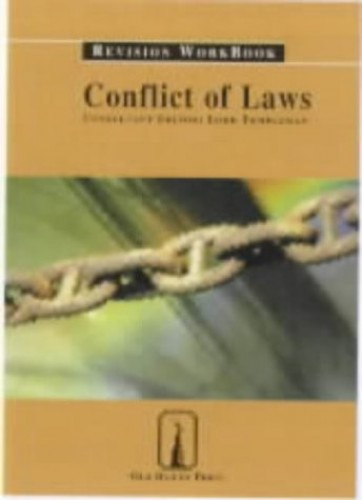 Conflict of Laws: Revision Workbook by Niamh Moloney