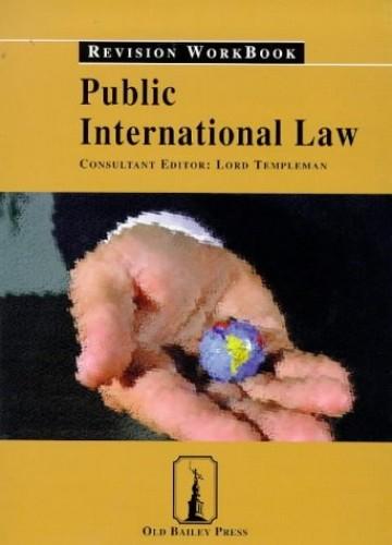 Public International Law: Revision Workbook by Robert M. MacLean