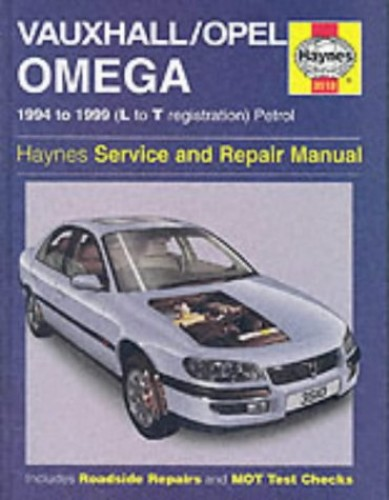 Vauxhall/Opel Omega Service and Repair Manual by Mark Coombs