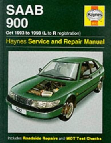 Saab 900 (October 1993-98) Service and Repair Manual by A. K. Legg