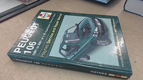 Peugeot 106 Service and Repair Manual: 1991 to 2000 by Steve Rendle
