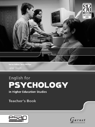 English for Psychology in Higher Education Studies by Jane Short