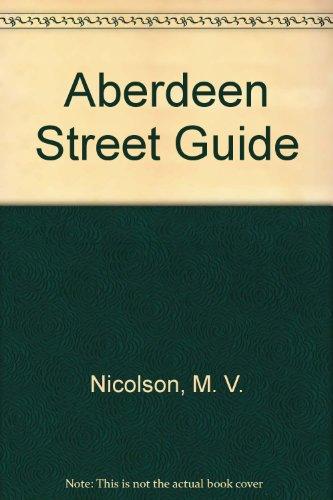 Aberdeen Street Guide by M. V. Nicolson