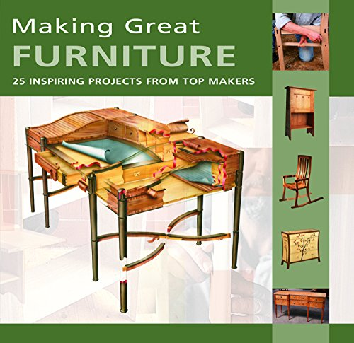 Making Great Furniture: 30 Inspiring Projects from Top Makers by Furniture & Cabinetmaking