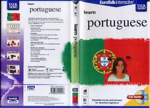 Talk Now! Learn Portuguese: Essential Words and Phrases for Absolute Beginners by EuroTalk Ltd.