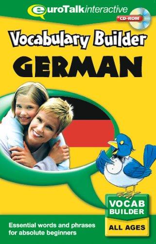 Vocabulary Builder - German by EuroTalk Ltd.
