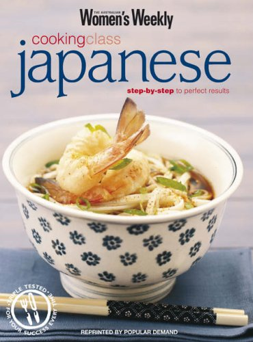 Japanese Cooking Class by
