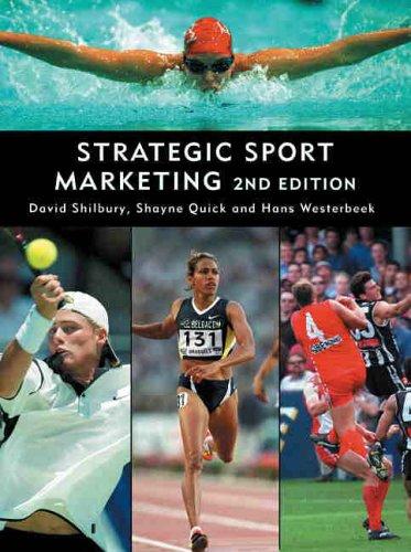 Strategic Sport Marketing by David Shilbury