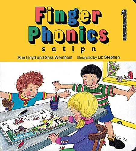 Finger Phonics: s, a, t, i, p, n by Susan M. Lloyd