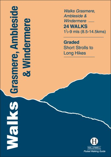 Walks Grasmere, Ambleside and Windermere by Richard Hallewell