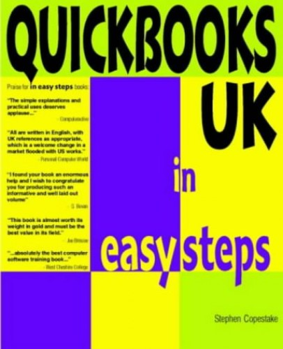 Quickbooks UK in Easy Steps by Stephen Copestake