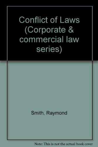 Conflict of Laws by Raymond Smith