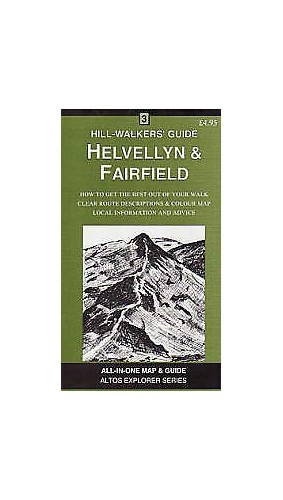 Helvellyn and Fairfield: A Hillwalker's Guide and Map by