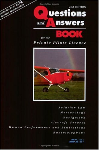 The Questions and Answers Book: For the Private Pilot's Licence by Jeremy M. Pratt